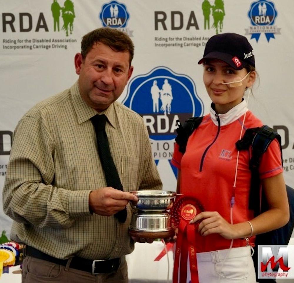 2018 National RDA Grade III Champion Hartpury - July