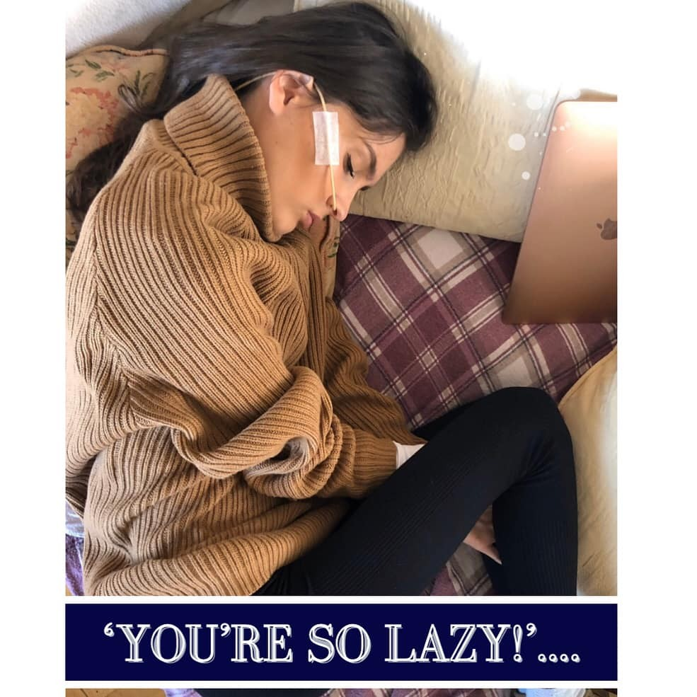 'You're so lazy'..